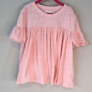 Gymboree Pink Flowing Shirt Medium 7-8